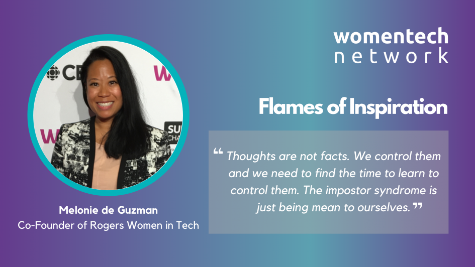 Melonie de Guzman, Fireside Chat, WomenTech Network