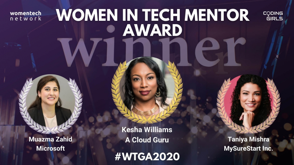 WTGA2020 Mentor of the Year