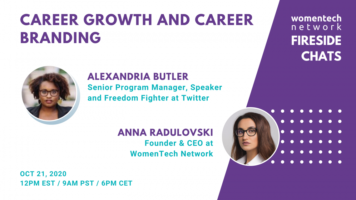 Career Growth And Career Branding With Alexandria Butler