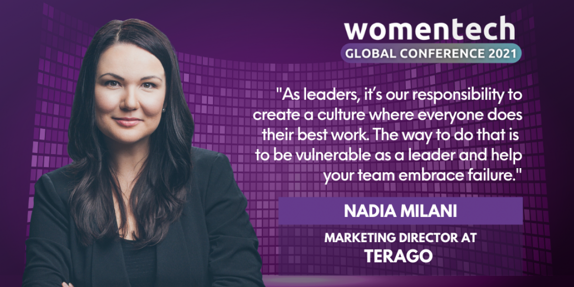 WomenTech Global Conference Voices 2021: Speaker Nadia Milani