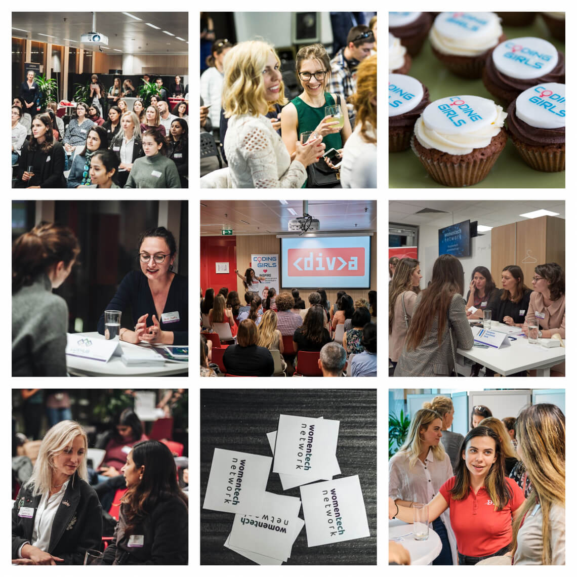 women in tech events