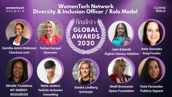 WomenTech Network Diversity and Inclusion Officers and Role Models of the Year 2020