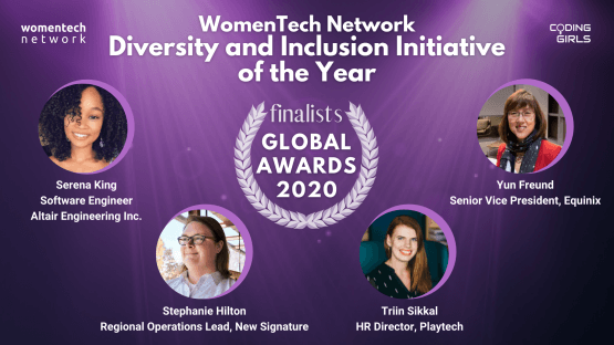 WomenTech Network Diversity and Inclusion Initiative of the Year Award 2020 (People)