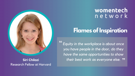 Siri Chilazi, Harvard, Fireside Chat, WomenTech Network