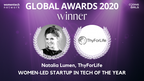 Women-Led Startup of the Year 2020