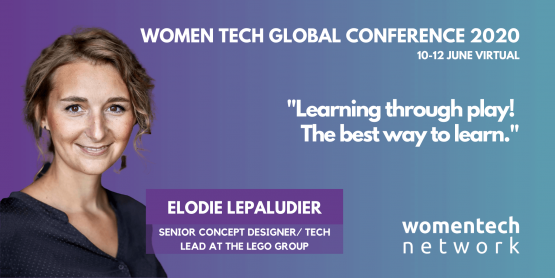 Elodie Lepaludier, WomenTech Global Conference 2020, Speaker