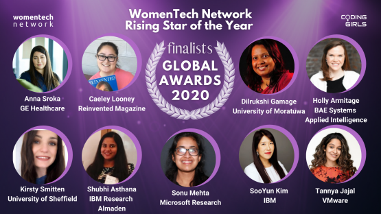 WomenTech Network Rising Star in STEM of the Year Award 2020