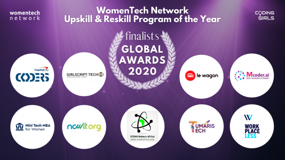 WomenTech Network Upskill and Reskill Program of the Year 2020