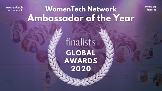 WomenTech Network Global Ambassador of the Year