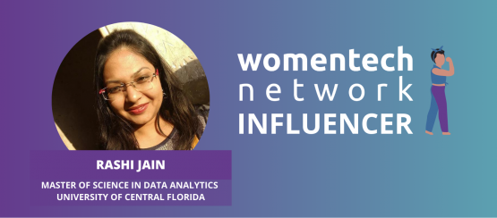 Rashi Jain, WomenTech Network Influencer