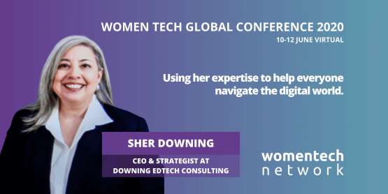 Sher Downing, WomenTech Network