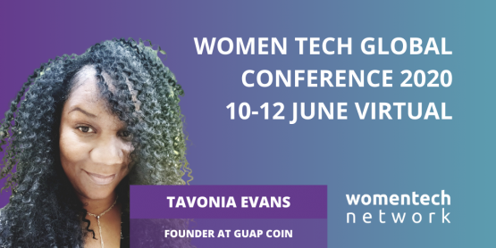 Tavonia Evans, Founder at Guap Coin