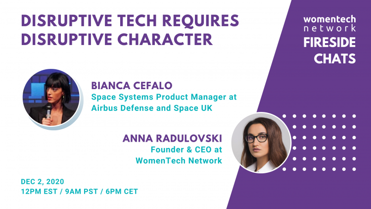 Disruptive Tech Requires Disruptive Character With Bianca Cefalo