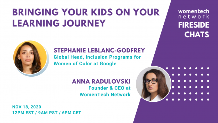Bringing Your Kids On Your Learning Journey With Stephanie Leblanc-godfrey