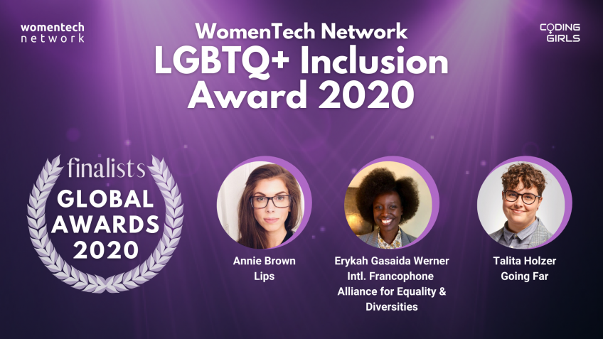 WomenTech Network LGBTQ+ Inclusion Award