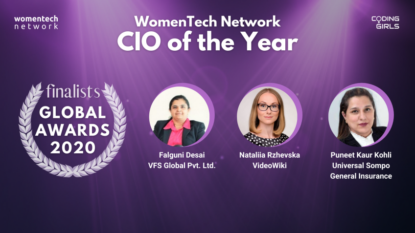 CIO Award WomenTech Network