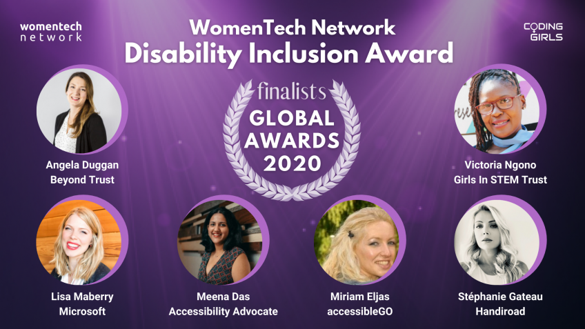 WomenTech Network Disability Inclusion Award 2020