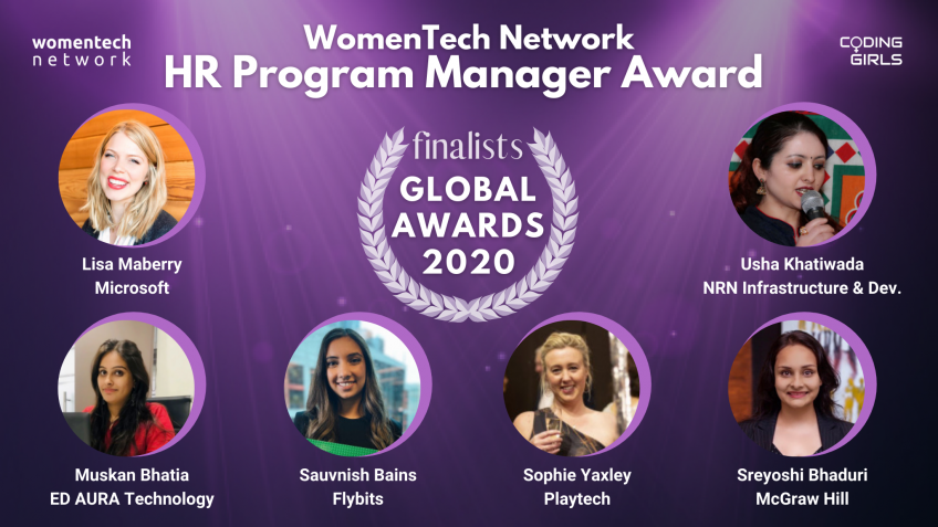 WomenTech Network HR Program Manager Award 2020