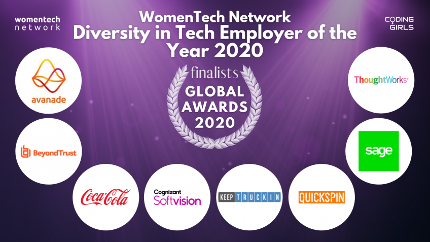 WomenTech Network Diversity in Tech Employer of the Year Award 2020