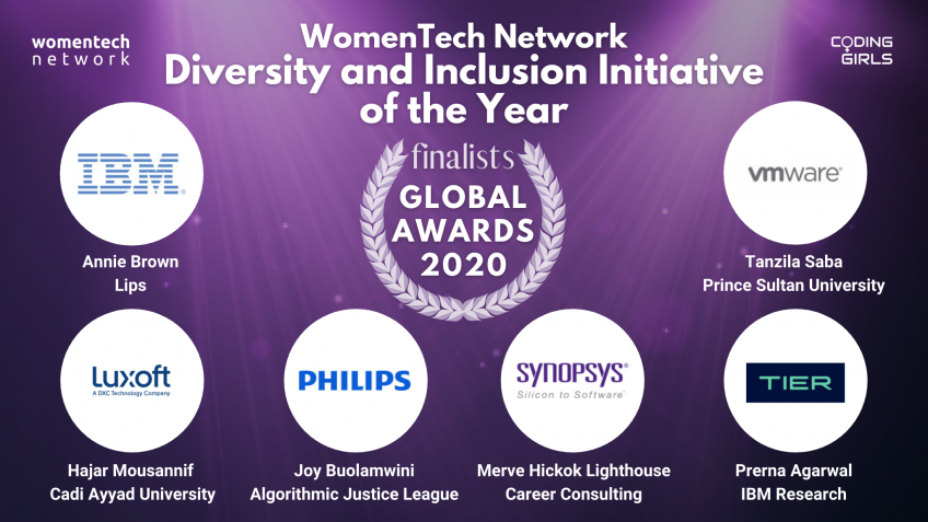 WomenTech Network Diversity and Inclusion Initiative of the Year Award