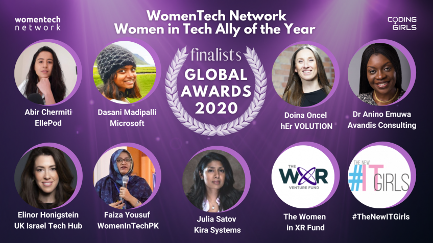 WomenTech Network Women In Tech Ally of the Year 2020