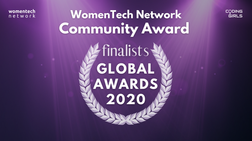 WomenTech Network Community Award of the Year 2020